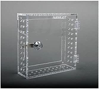 Faberplast Caja Seguridad Termostatos, Metacrilato, 17.5x17.5x6 cm: Amazon.es: Hogar