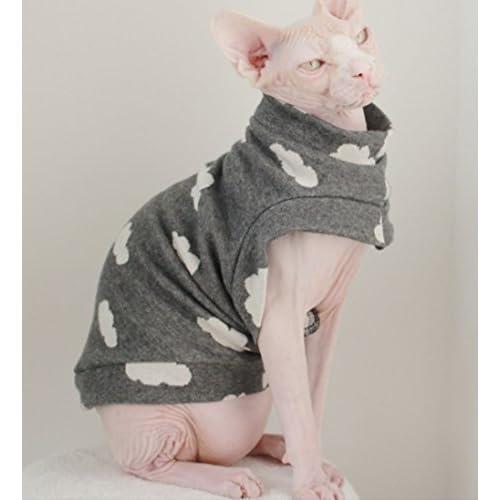 Khemn Designer Cloud Mode Chat Chaud Vêtements Cat Mince Sweater