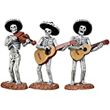 Lemax Spooky Town Skeleton Mariachi Band, Set of 3 #12884