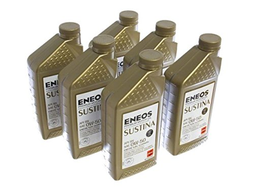 Oil Eneos Engine (Eneos 3210-302 0W50 Sustina Engine Oil 6qt Pack)
