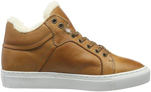 Bianco Wool Sneaker Boot Jja16, Botines para Mujer Braun (24/Light Brown)