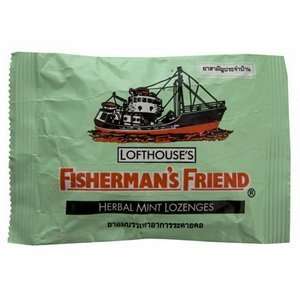 Fishermans Friend Herbal Mint Candy 25g.