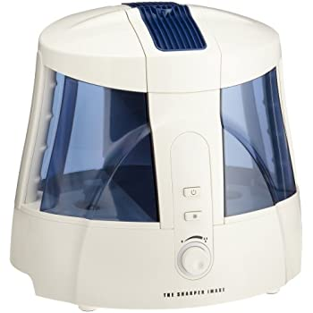 the sharper image ev hd15 cool mist ultrasonic 1 6 gallon humidifier with clean mist. Black Bedroom Furniture Sets. Home Design Ideas