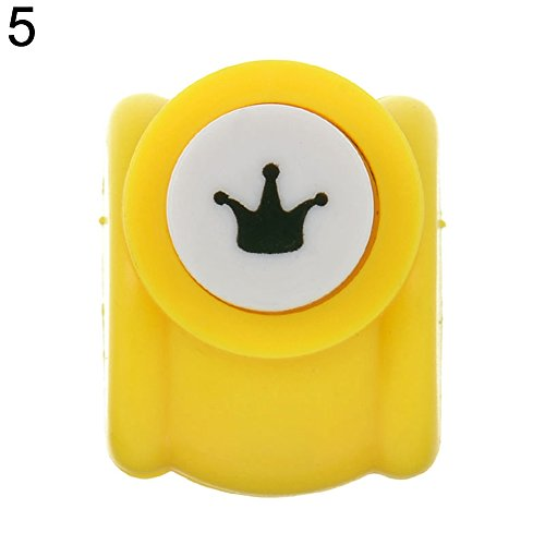 Softmusic Stationery & Office Supplies,1Pc Mini Scrapbook Punch Handmade Cutter Printing DIY Paper Hole Puncher Shape Crown