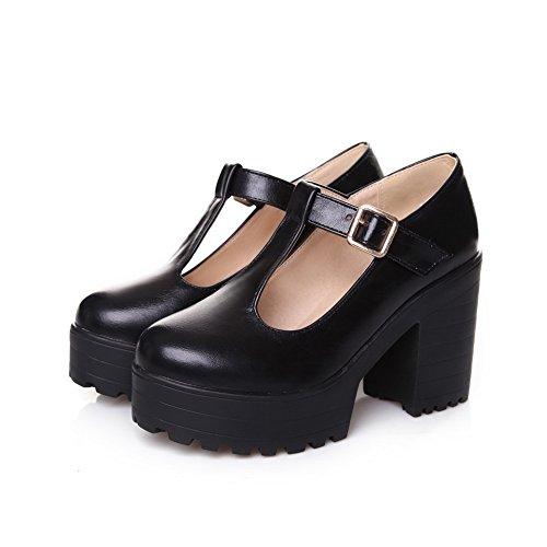BalaMasa Apl10085, Sandales Compensées femme - noir - noir,