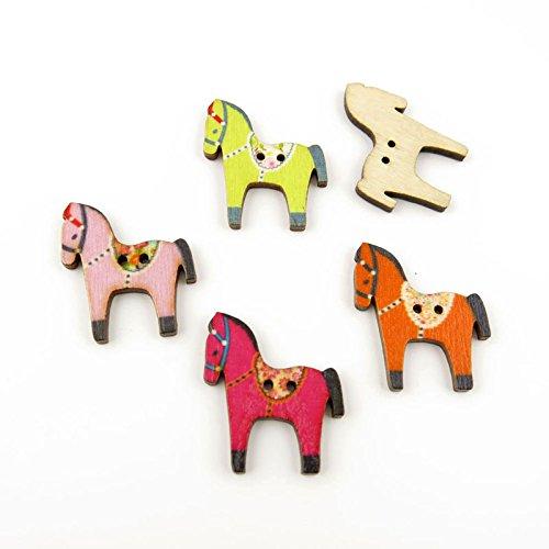 Horse Buttons - 9