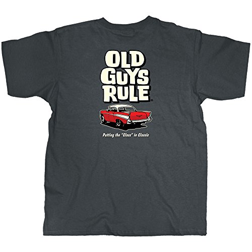Old Guys Rule Class in Classic SS T-shirt-xl