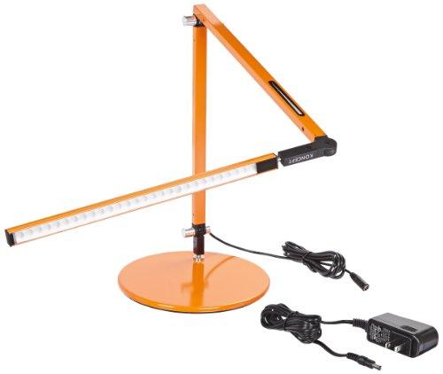 Koncept AR3100-W-ORG-DSK Z-Bar Mini LED Desk Lamp, Warm Light, Orange