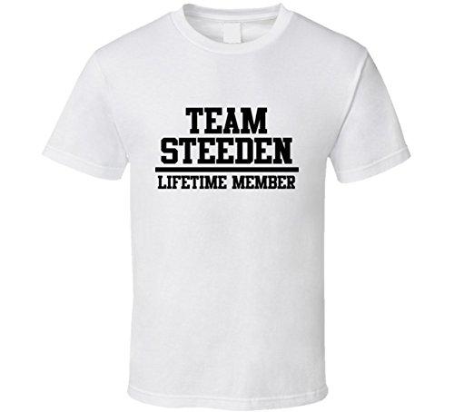 team-steeden-lifetime-member-last-name-cool-t-shirt-s-white