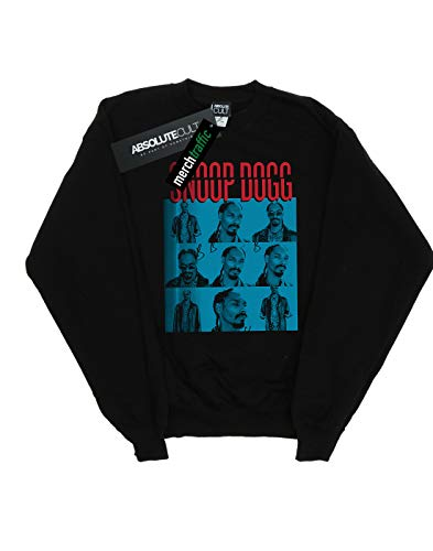 Noir Contact Dogg Absolute Cult Sweat Sheet shirt Snoop Homme nPqnZxwI68