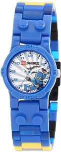 LEGO Kids' 9003103 Ninjago Blue Ninja Watch