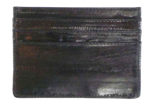 100% Genuine Eel Skin Thin Credit Card Case style - e170