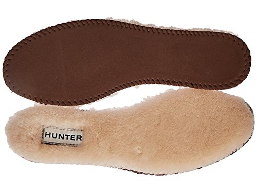 Hunter Women's Luxury Shearling Insoles Natural Boot ()