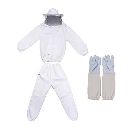 REAMTOP Professional Beekeeper Suit (Jacket, Pants, -