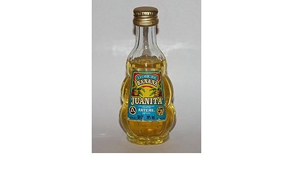 Juanita - Licor de banana Artemi 5cl: Amazon.es: Alimentación ...