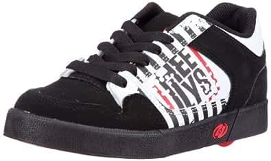 Heelys Caution Skate Shoe (Little Kid/Big Kid),Black/White,12 M US Little Kid