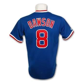 Chicago Cubs Andre Dawson Cooperstown Fan Replica Baseball Jersey Size XXXL