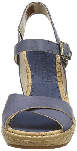 Timberland Millbridge FTW_EK Damen Knöchelriemchen Sandalen Blau (Blue)