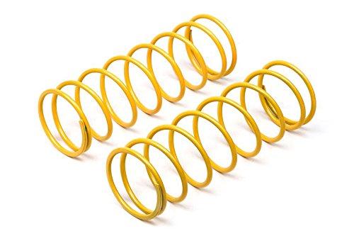 Big Bore Shock Spring (2), Yellow, 68mm: (Hpi Big Bore Shocks)
