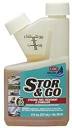 CRC 06141 STOR & GO Ethanol Fuel Treatment & Stabilizer, 8 oz