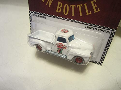 Hot Wheels CUSTOM /'59 CHEVY Coca-Cola Real Riders Limited Edition 1//5 Made!
