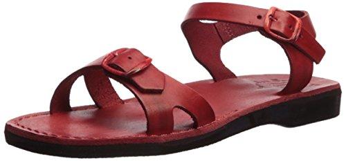Women's Sandals Red Sandal Edna Jerusalem 5FCz0qwS5