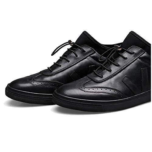 degli all'Usura Scarpe Stringate Moda Assorbimento Casual Stile Urti Black Traspirante NIUMT Britannico Resistente Iw6P0Pq