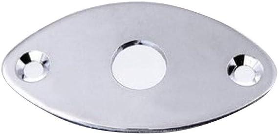 Allparts AP-0615-001 Gotoh Nickel Football Jackplate