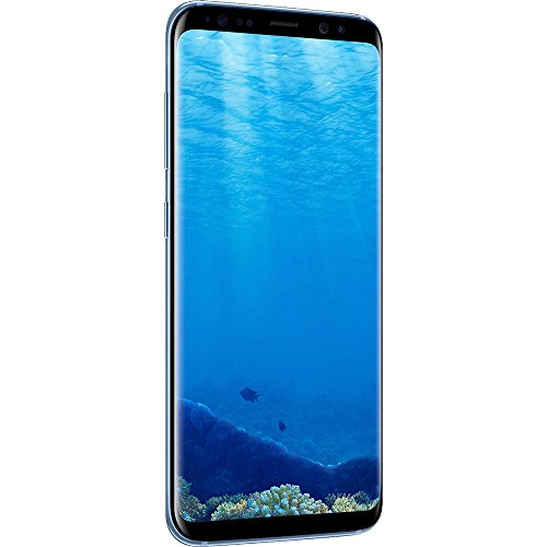 Samsung Galaxy S8+ Dual Sim SM-G9550 - Factory Unlocked (Coral Blue, 64GB) - International Version, No Warranty, GSM ONLY