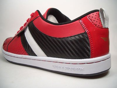 Creative Recreation Dicoco Lo rosso/nero/bianco cr39lo Flash 20 misura 42/US 9/UK 8/27 cm