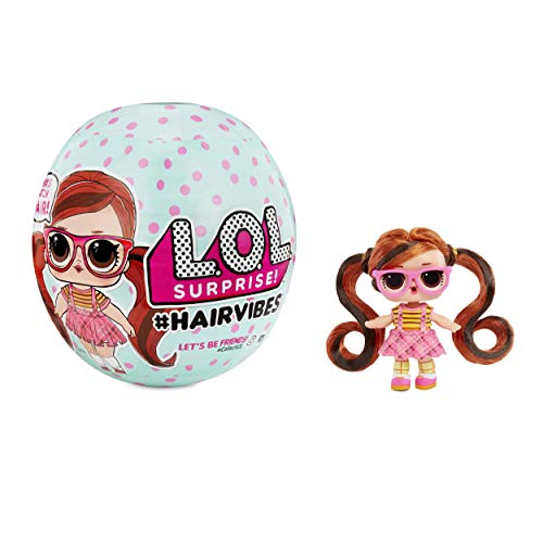 L.O.L. Surprise! #Hairvibes Dolls with 15 Surprises & Mix & Match Hairpieces (564751)