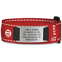 Stainless Nylon - Identification Bracelet, ID Wristband