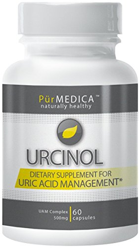 Urcinol - The Leading Uric Acid Supplement - 30 Day Supply. Premium Pain Relief & More Powerful Than Tart Cherry at Flushing Out Uric Acid.