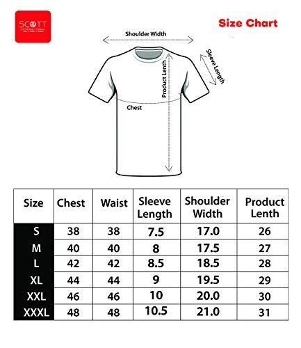 411 UBgpZQL AWG - All Weather Gear Men's Regular Fit T-Shirt(Pack of 3)
