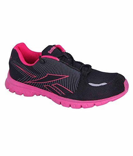 758d04e1c2f Reebok Black and Pink Colour Running Shoes for Men  Buy Online at Low  Prices in India - Amazon.in