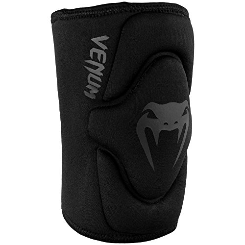 Venum Kontact Gel Knee Pad - Black/Black, Medium/Large