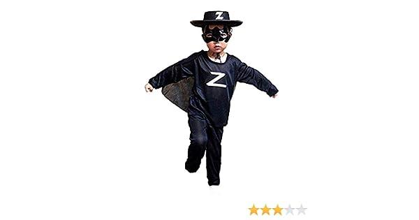 Disfraz de zorro - espadachín - disfraces para niños - halloween ...