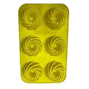 6 pcs silicon model,washable,food grade silicon,size:30''17cm,oven use