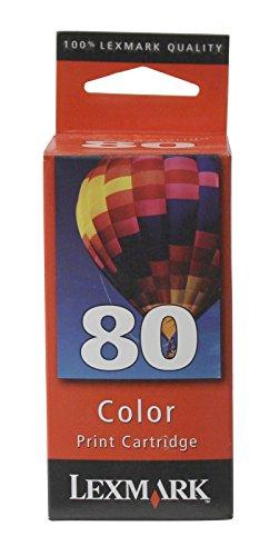 - Lexmark 12A1980 Color Inkjet Print Cartridge