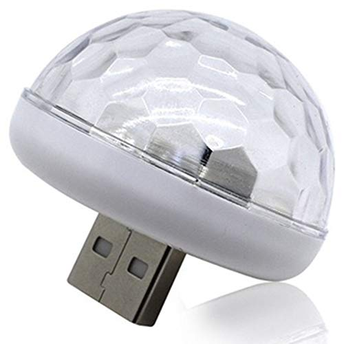 TOOGOO Multi Color USB Led Car Interior Lighting Kit Atmosphere Light Neon Lamps