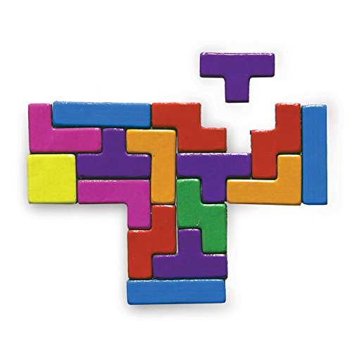 Tetris Fridge Magnets. Officially licensed. Create endless shapes on your fridge.