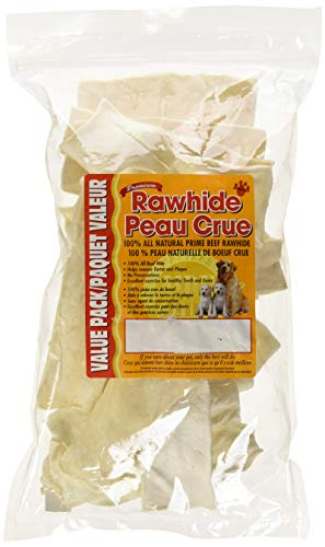 Masters Best Friend Rawhide White Chips Pet Treat (1 Pack), 16 Oz