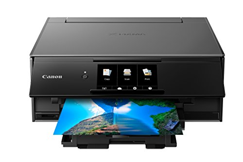 Canon TS9120 Wireless All-in-One Bluetooth Printer with Scanner and Copier: Mobile and Tablet Printing, with Airprint(TM) and Google Cloud Print Compatible