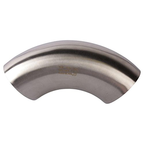 90 Degree Short Elbow | Butt Weld 3 inch - Stainless Steel SS304 / 3A - Glacier Tanks - (3 Pack)