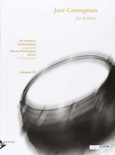 Jazz Conception: Drums (21 complete transcriptions)
