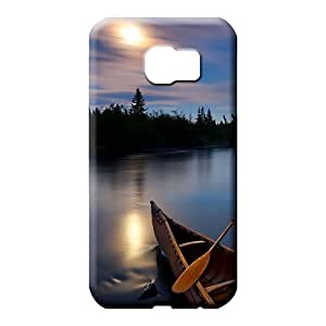 samsung galaxy s6 Nice Fashionable For phone Cases mobile phone skins canoe on river