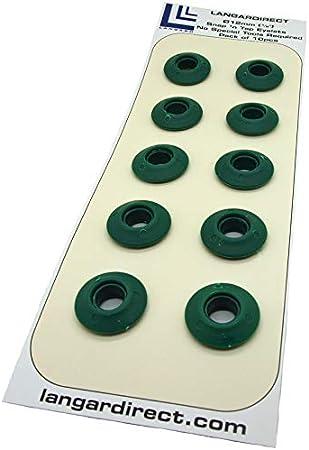 Langard 12mm vert foncé Snap 'n' robinet Oeillets Lot de 10pcs