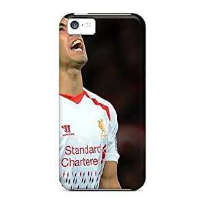 New Arrival The Best Football Player Of Liverpool Luis Suarez Missed A Goal Xts2687fZfC Case Cover/ 5c Iphone Case