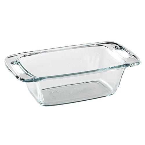 Pyrex Easy Grab 1.5 Quart Loaf Dish (Pyrex Loaf)