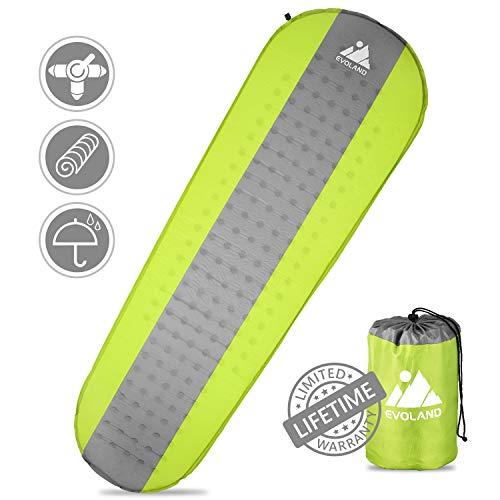 EVOLAND Self Inflating Camping Sleeping Pad $12.49 (Was $24.99)